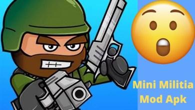 mini militia mod apk with hacked unlocked