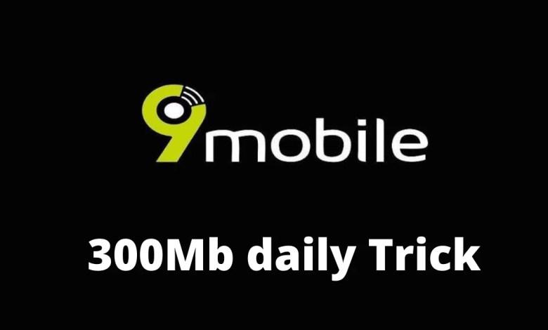 9mobile 300mb daily on stark VPN reloaded