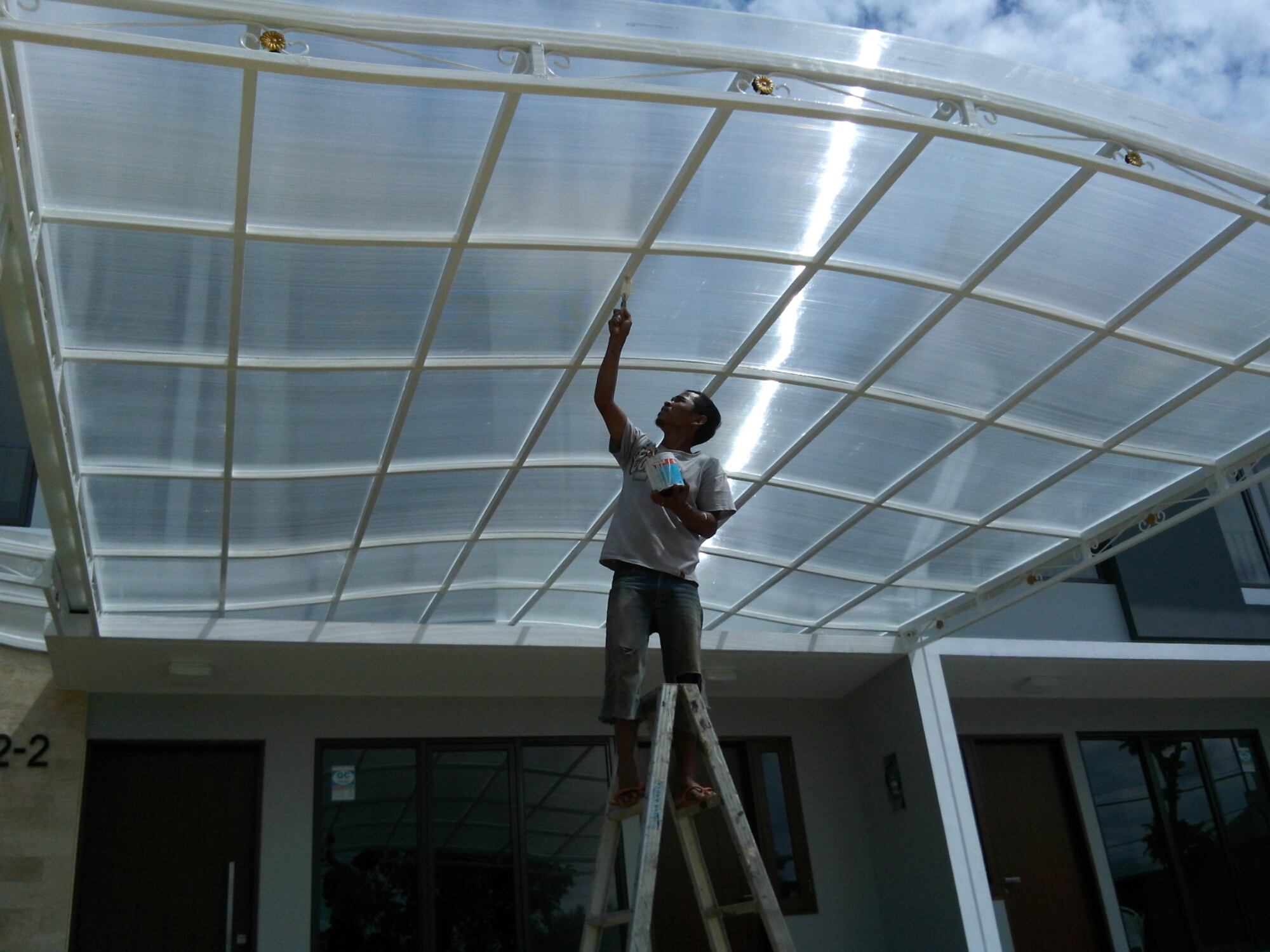 harga ganti atap baja ringan kanopi spandek per meter –