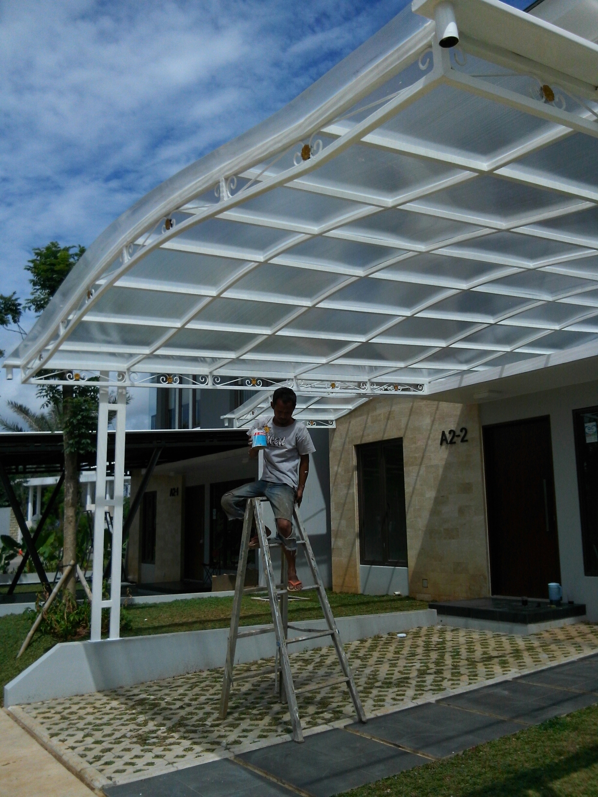 kanopi baja galvanis atap alderon – daftar harga 2017
