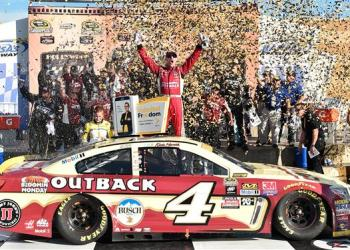 Call him whatever you want; when it matters, Kevin Harvick will deliver.