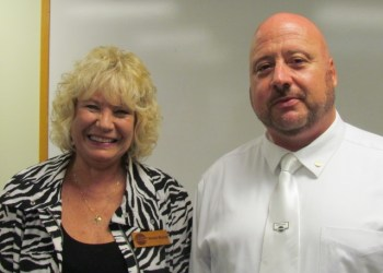 Shown are Donna Nelson and Jeff Yetzer. (Provided photo)