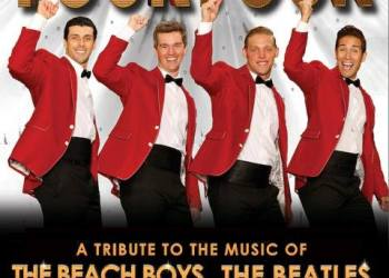 The versatile group, Four By Four, will perform music from The Beatles, Bee Gees, The Beach Boys and Motown in a special concert at the Rowland Theatre in Philipsburg on Saturday, June 2 at 7 p.m. Tickets are still available. (Photo courtesy of the Rowland Theatre)