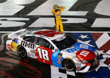 No one could believe it, including the man who won it.  But, Kyle Busch has won on every track on the Monster Energy NASCAR Cup Schedule...for now.