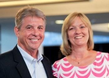 Open Doors Scholarship donors Dan and Donna Kohlhepp. (Provided photo)