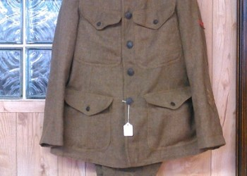 A World War I uniform is on display at the Philipsburg Historical Foundation Museum. (Provided photo)