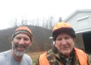 Scott McKenzie and James Dobson (Photo courtesy of Scott McKenzie)