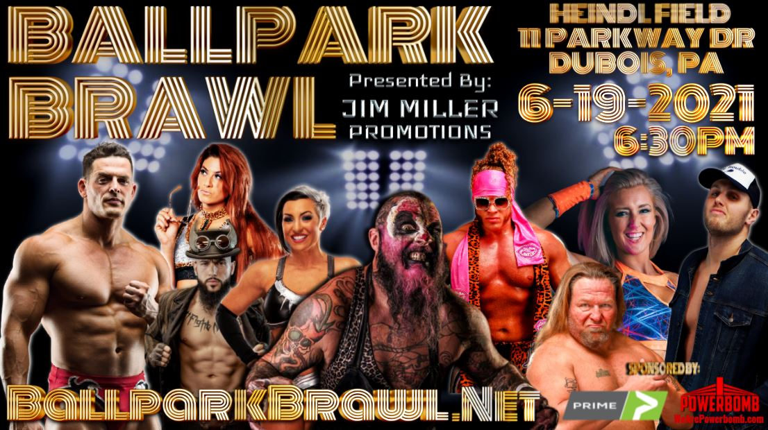 """""""Ballpark Brawl"""" Pro Wrestling Event to Benefit United Way, Other Area Organizations"""