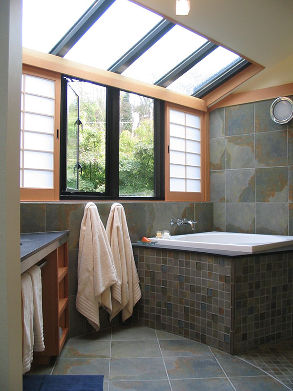 Custom Japanese Bath Remodel Seattle Gant Nychay Architects