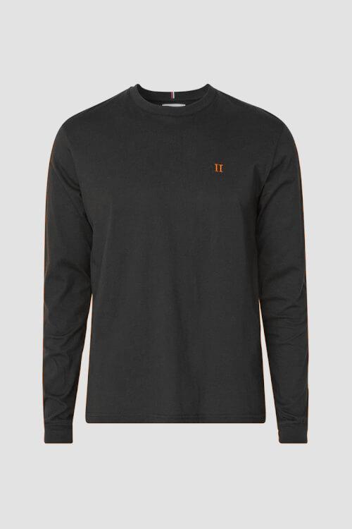 Les Deux Nørregaard LS T Shirt Black