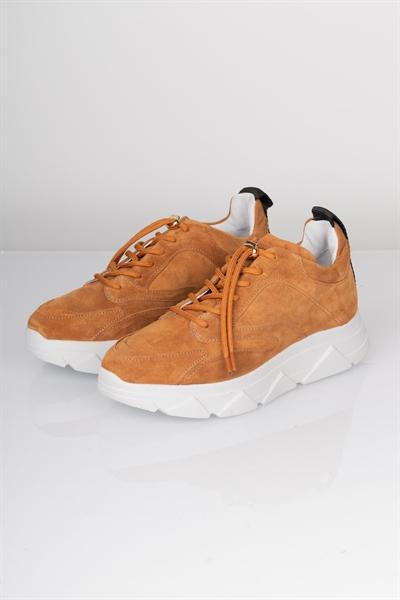 Køb Pavement Sneakers Portia Tan Suede Her! | Ganto