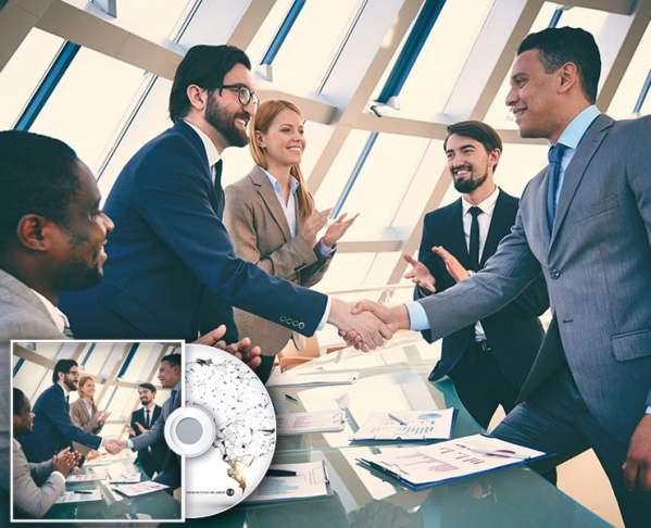 Geschäftliche Verhandlung