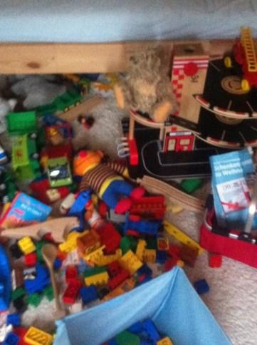 Chaos im Kinderzimmer, Aufräumen mit Kindern