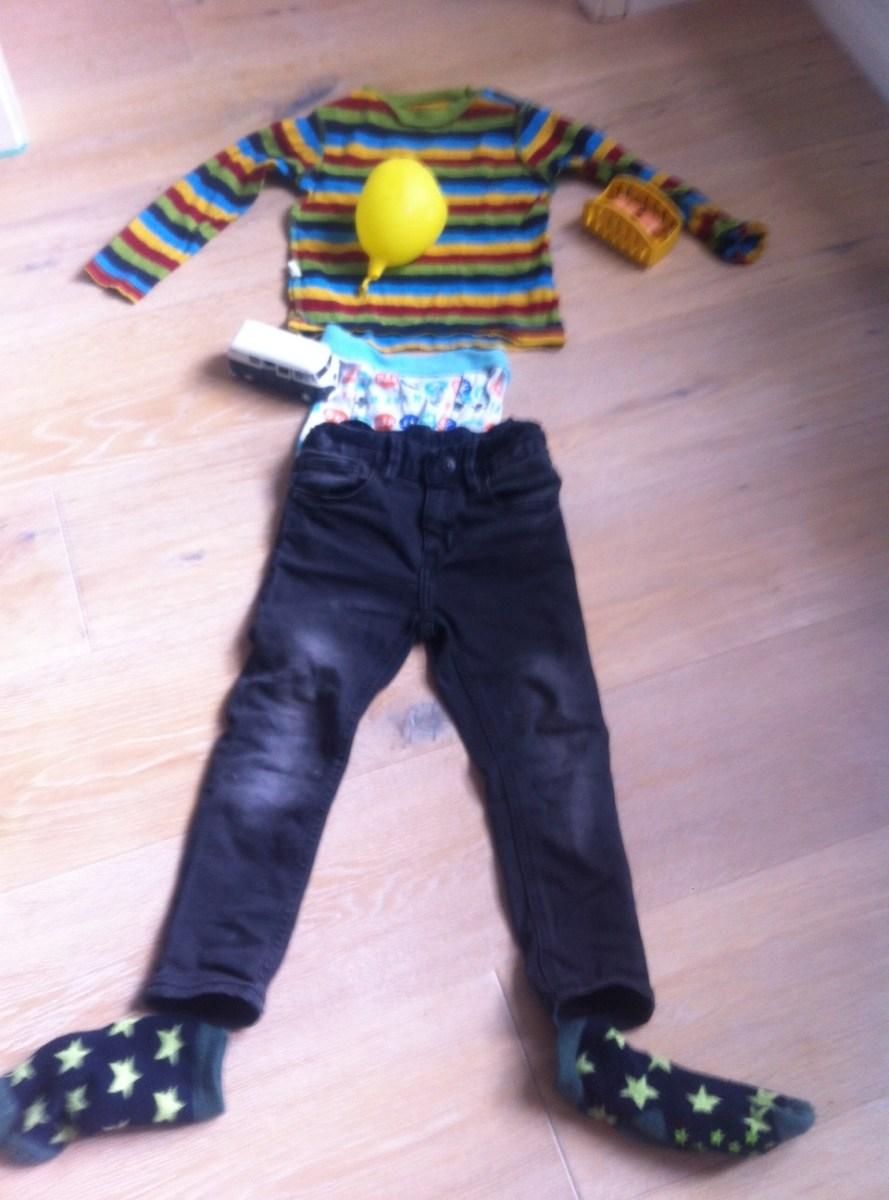Kinderkleidung Anziehen Trödeln