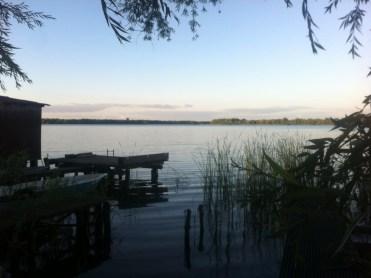 Schaalsee Abendstimmung Urlaub mit Kindern Familienreise