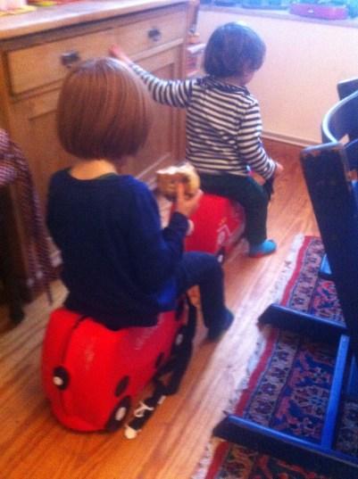 Trunki, Kinderkoffer, Kindertrolley, Koffer zum Fahren
