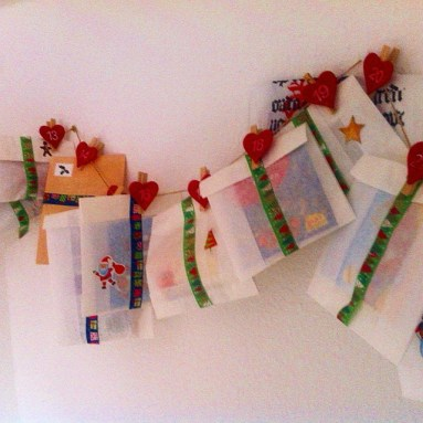 DIY, Adventskalender, Washi Tape