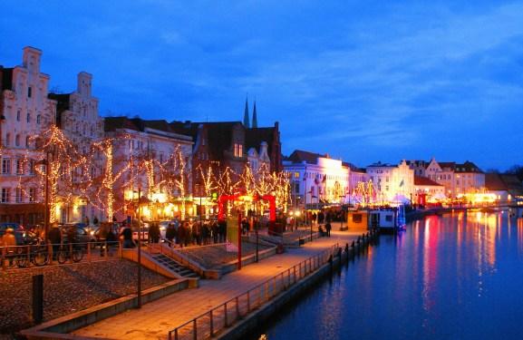 Lübecker Weihnachtsmarkt, Weihnachtsmarkt, Reisen mit Kindern, Urlaubstipp