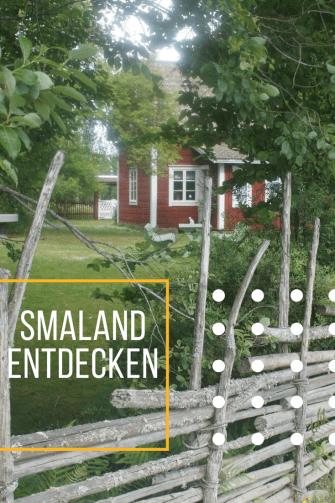 Rundreise durch Smaland: Tipps für den Urlaub in Süd-Schweden. Die Gegend rund um Vimmerby mit Kindern entdecken - und in lauschige Sommercafes einkehren.