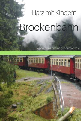 Der Harz ist ein tolles Reiseziel für Kindern. Reisetipps für Familien über die Fahrt mit der Brockenbahn auf den Brocken.