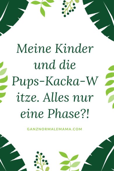 Kinder in der Pups-Kacka-Phase: Wie gehen Eltern damit um, wenn ihre Kinder ständig solche Wörter in den Mund nehmen? Erziehung ist nicht immer einfach!