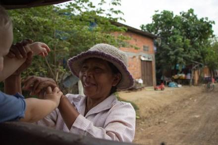 Ihr Sohn öffnete Gabriela die Türen und Herzen der Kambodschaner. (Foto Mami bloggt)