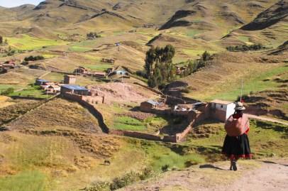 Kinderförderkurse in den Anden in Peru