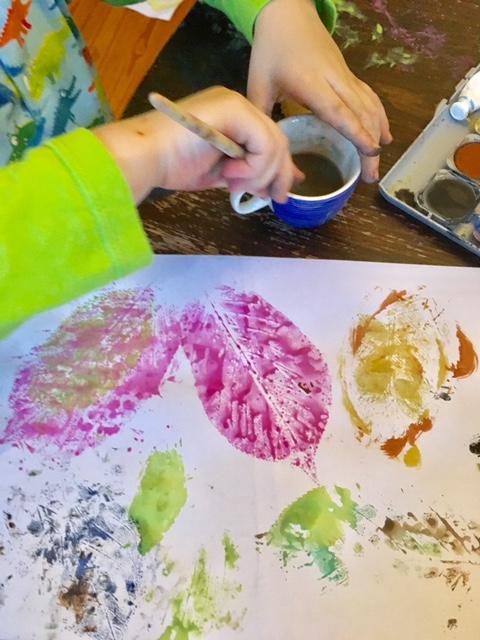 Tuschen Mit Kindern Ideen Für Wasserfarben Ganz Normale Mama