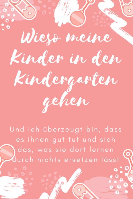 Kindergarten ist die beste Vorbereitung für Schule unnd Leben: Meine Meinung. Diskussion über Erziehung. Wieso meine Kinder in den kindergarten gehen.