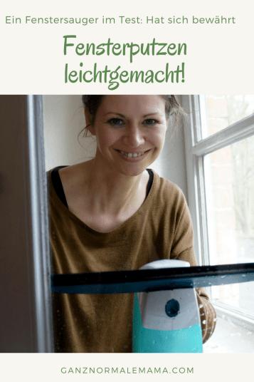 Unsere Erfahrungen mit dem Leifheit Fenstersauger: Fensterputzen wird so wirklich leichter und erleichtert den Haushalt mit Kindern und das Familienleben.