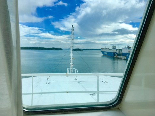 Fährfahrt von Finnland nach Deutschland mit Finnlines