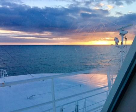 Fährfahrt Finnlines nach Finnland