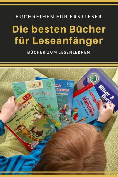 Buchtipps für Leseanfänger: mit diesen büchern lernen kinder und erstklässler leicht das lesen. bücher für erstleser und grundschüler 1. klasse #einschulung #geschenk