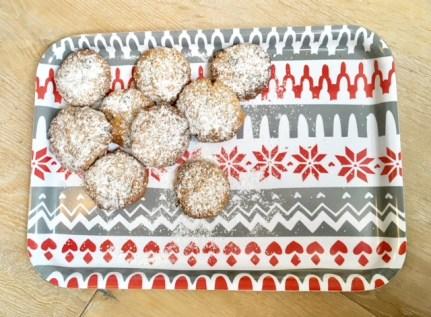 Einfaches Rezept für Haferplätzchen mit zimt, Mandeln und Schokolade