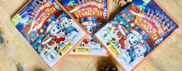 Paw Patrol Weihnachts-DVD Verlosung und Filmtipp für Kinder