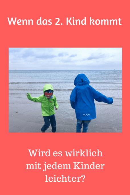 Wir bekommen ein 2. Kind: Wenn das Geschwisterkind kommt stellen sich viele Fragen. Ist das Leben einfacher? Antworten und Leseprobe plus Buchtipp für Eltern. #erziehung #eltern
