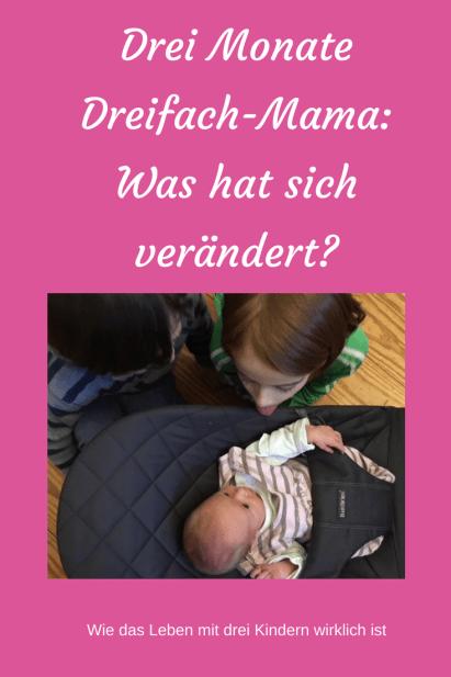 Dreifach-Mama: Wie verändert sich das Familienleben mit drei Kindern? War es die richtige Entscheidung, ein drittes Kind zu bekommen?