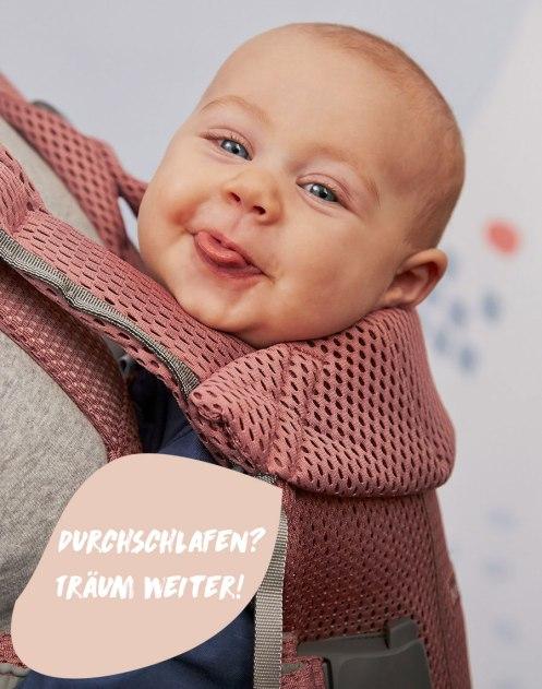 Frühjahrskollektion von BabyBjörn: Babywippe Bliss in Frostgrün Mesh. #baby #babyausstattung #eltern
