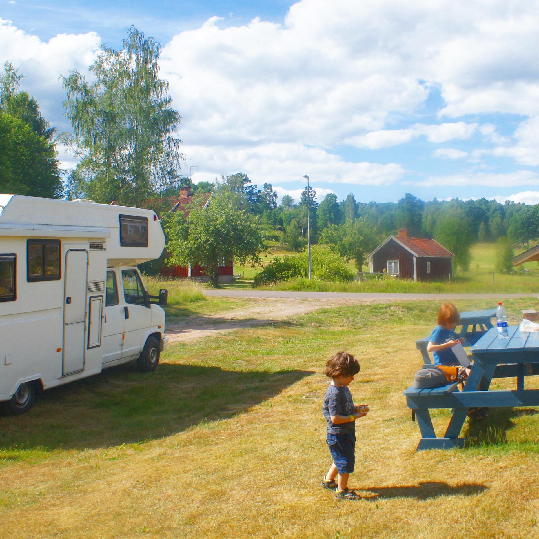 Unsere Lieblings-Wohnmobilstellplätze in Schweden  Ganz normale Mama
