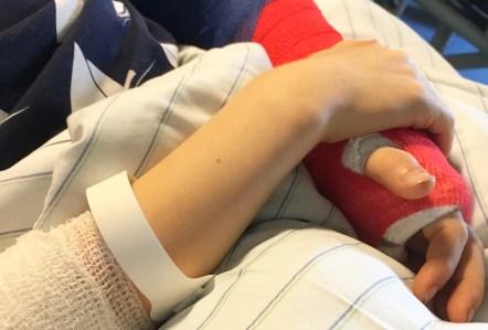 Wie man als Mutter funktioniert wenn das Kind operiert werden muss