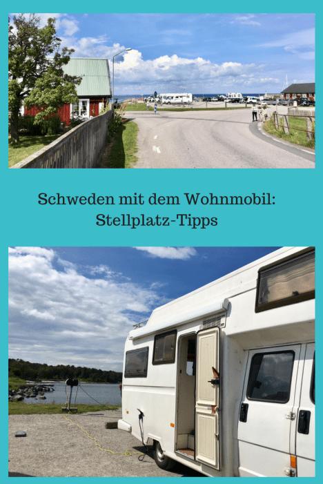 Tipps für Wohnmobil-Stellplätze in Schweden: Womoplätze für eine Übernachtung in Südschweden