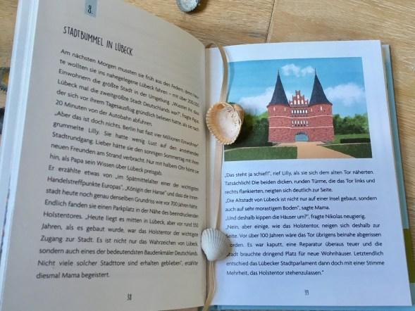 Kinderbuch das in Lübeck und der Lübecker Bucht an der Ostsee spielt