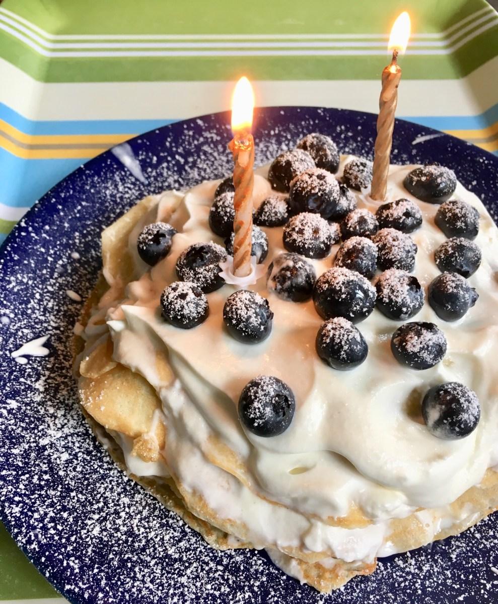Rezept Fur Eine Pfannkuchentorte Wie Bei Petersson Und Findus Ganz