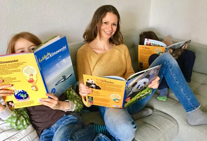 Buchtipp für Kinder Sachbücher für Kinder wissensbüxher und Lesetipp werbung