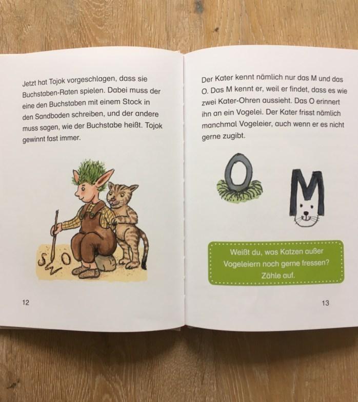 Lesenlernen - Tipps für Bücher für Leseanfänger