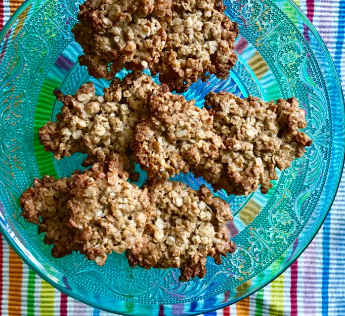 Rezept für Haferflockenkekse - schnell gebackene schwedische Haferkekse