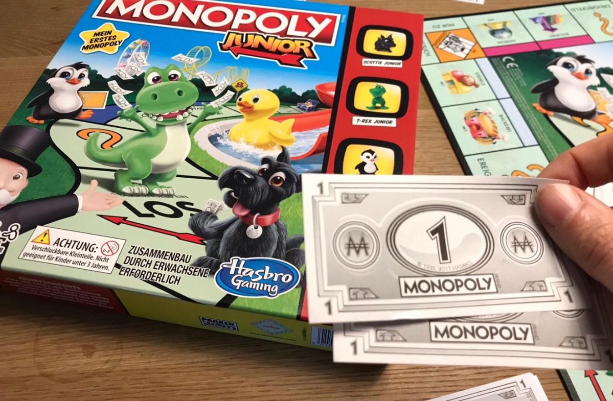 monopoly alte version geld