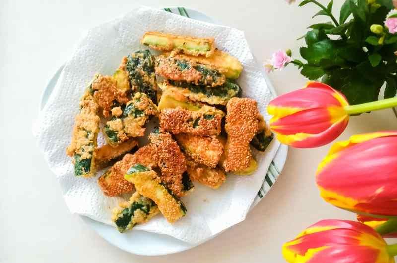 Wir kochen: Zucchini-Keile