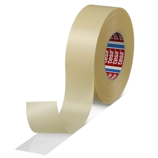 double-sided floor laying tape.