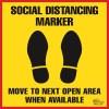 Social Distancing Marker